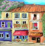 Iris Piraino - the colorful houses