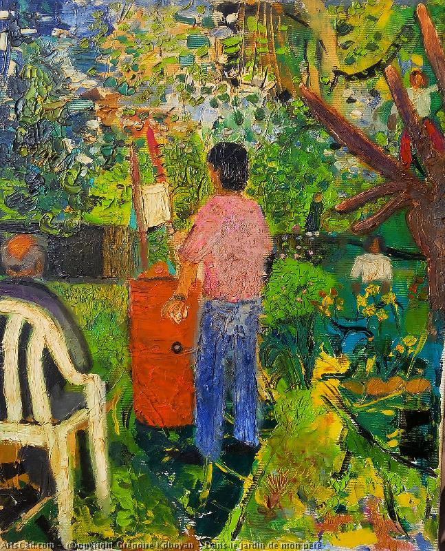 Artwork >> Grégoire Koboyan >> In the Garden of My Father