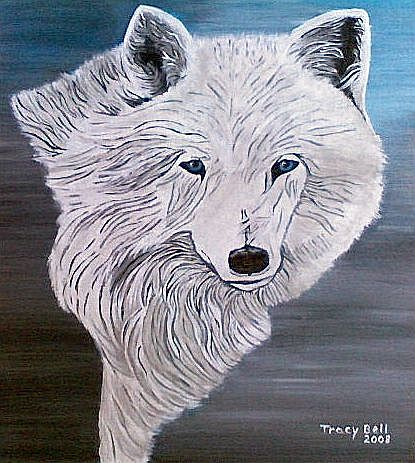 Artwork >> Tracy Bell >> Arctic Wolf