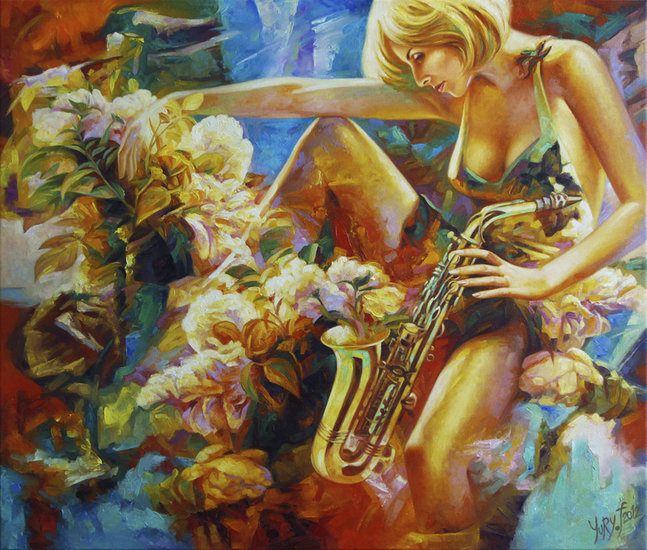 Artwork >> Yury Fomichev >> Music Candy