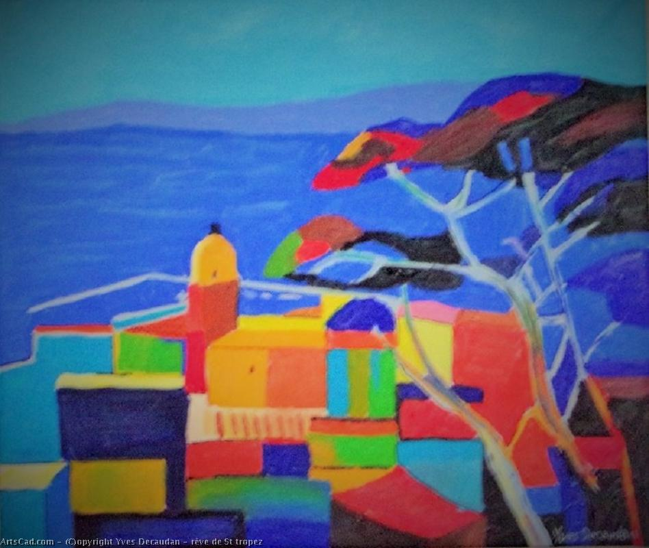 Artwork >> Yves Decaudan >> dream about st. tropez