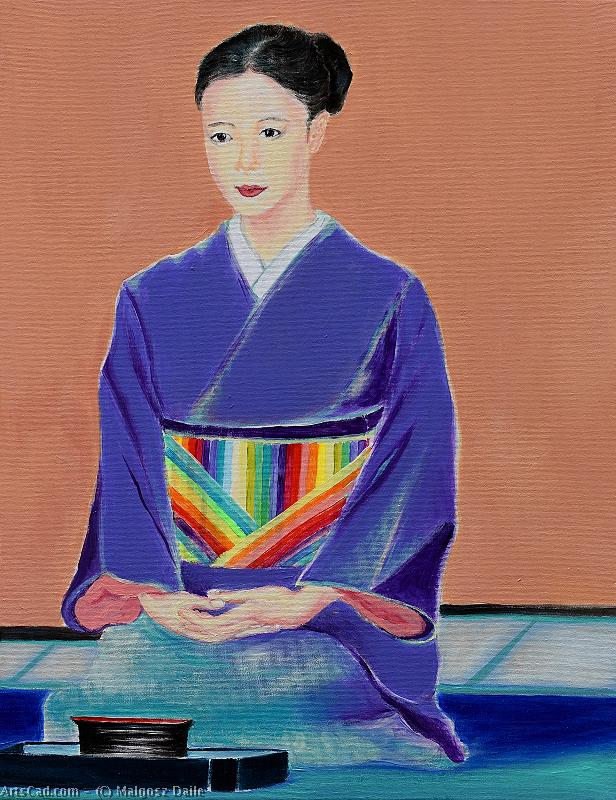 Artwork >> Malgosz Daile >> Geisha