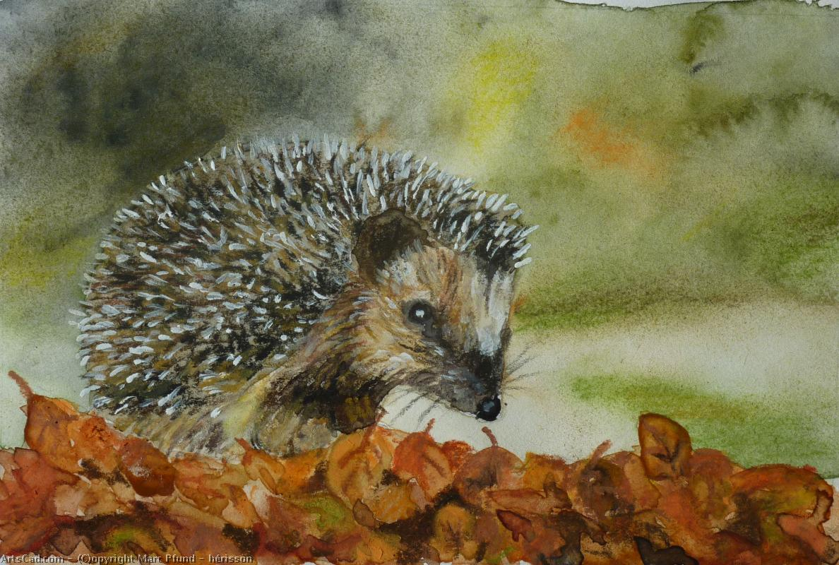 Artwork >> Marc Pfund >> hedgehog