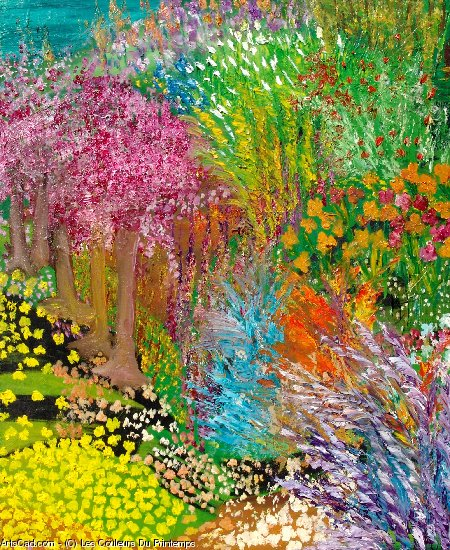 Artwork >> Les Couleurs Du Printemps >> happiness