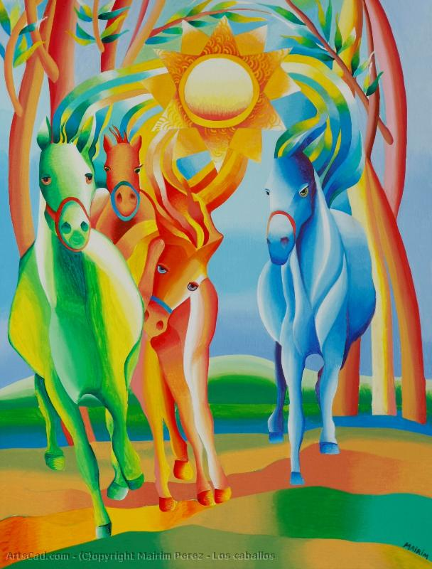 Artwork >> Mairim Perez >> The Horses