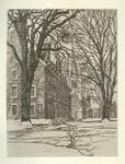 James Stow - Samuel Chamberlain -Havard Yard- Limited Edition Etching