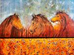 Mimouni Hassan - Horses from l-Atlas -Composition 2