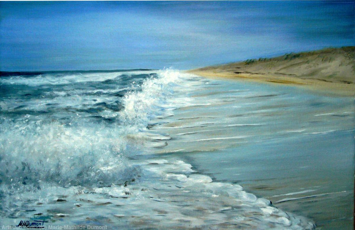 Artwork >> Marie-Mathilde Dumont >> Silver Waves