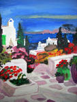 Marie Christine Legeay - LANDSCAPE OF GREECE
