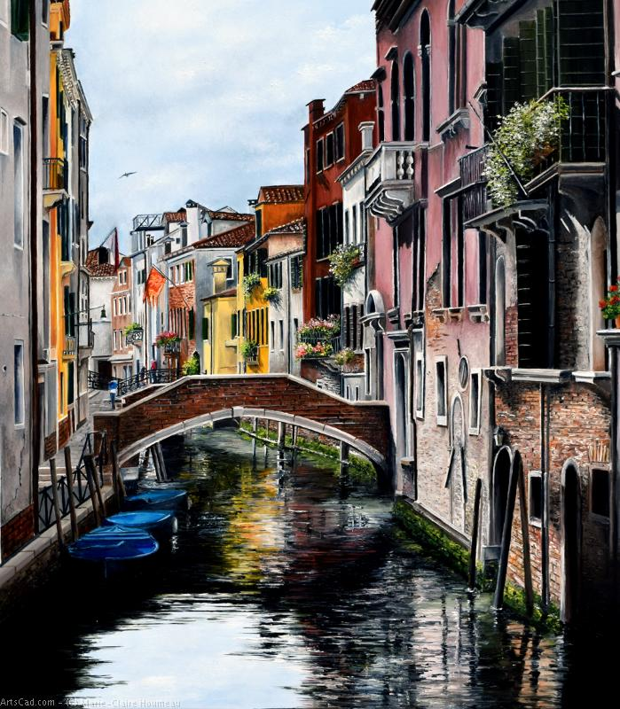 Artwork >> Marie-Claire Houmeau >> Lights and colors Venice