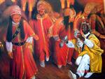 Exposition Lakhdarart - Maroc - dance of guenaouis