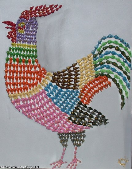 Artwork >> Maryse Bel >> The Rooster