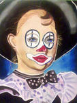 Chris, Dessinatrice, Portraitiste - The Clown weeper