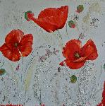 Sylviane Petit - Poppies in - Serenade