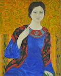 Inna Skidan - Slav girl with a shawl