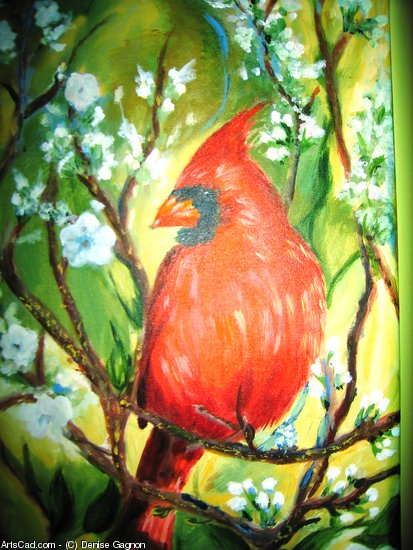 Artwork >> Denise Gagnon >> M . CARDINAL