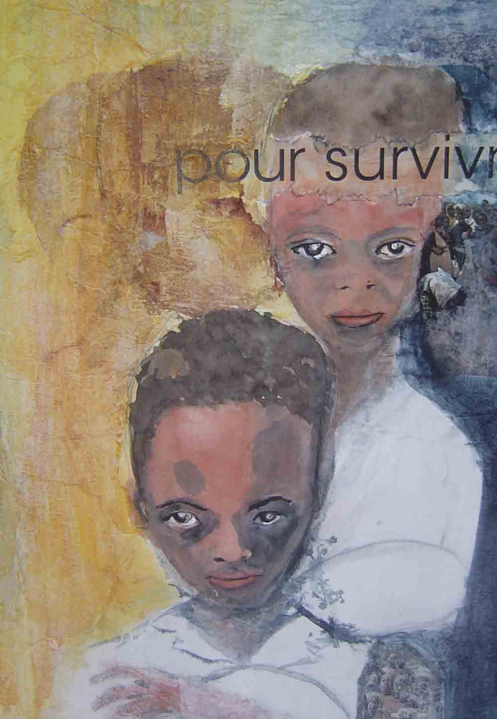 Artwork >> Mireille Dubois-Vanhove >> for survivor entered sufferings up and Deprivations