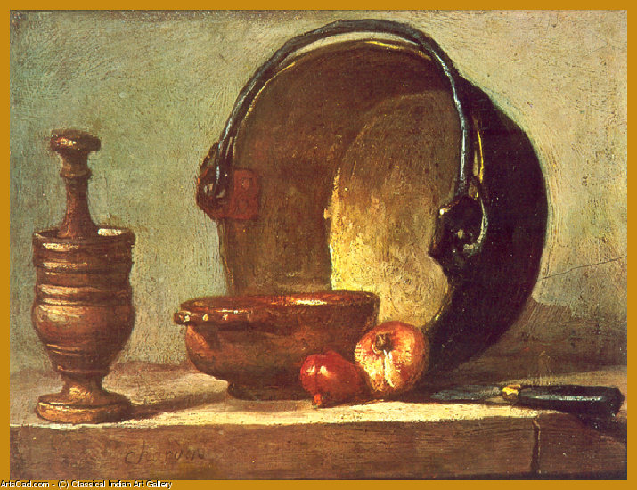 Artwork >> Classical Indian Art Gallery >> By - J.B.S. Chardin - Print