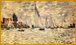 Classical Indian Art Gallery - By - Claude-Oscar Monet - Print