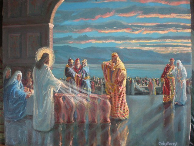 Artwork >> Carlos Roces >> the canaan weding ( the gospel acording to carlos Roces )