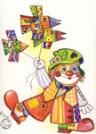 Oxana Zaika - CAT clown/vendu
