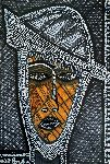 Mirit Ben-Nun - Artist modern drawing by face of woman for sale