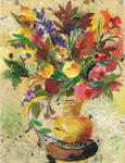 Nira Schwartz - Vase with Flowers