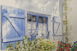 Soizig Rénier - THE BLUE SHUTTERS