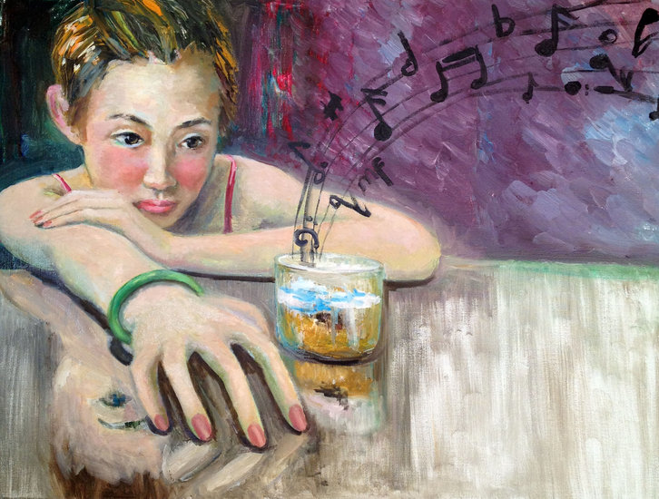 Artwork >> Sharon Shen >> in the bar-6