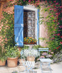 Marie-Claire Houmeau - In front of gate Provencal