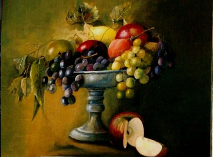 Artwork >> Joelle Beuscart >> fruit cup