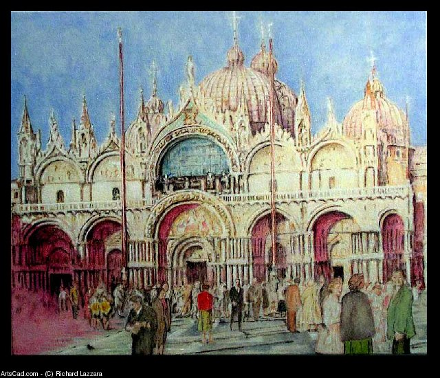 Artwork >> Richard Lazzara >> Lazzara San Marco Basilica