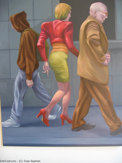 Artwork >> Sean Durham >> Three Figures