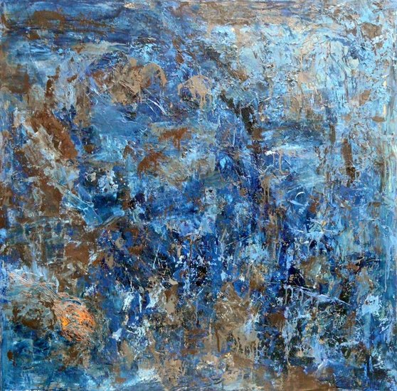 Artwork >> Pomo Galerie De Robinson >> M2 with blue