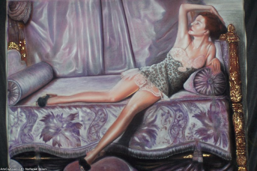 Artwork >> Nathaniel Brown >> The Bed Model
