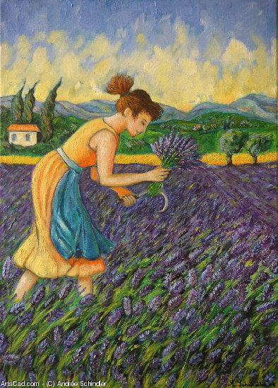 Artwork >> Andrée Schindler >> there picking