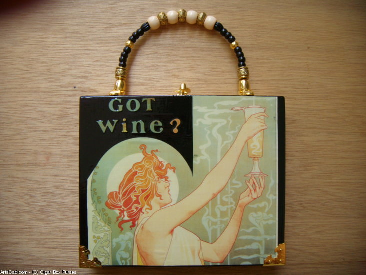 Artwork >> Cigar Box Purses >> More, Please