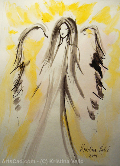 Artwork >> Kristina Valic >> Angel