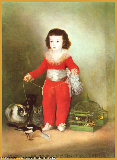 Artwork >> Classical Indian Art Gallery >> By - Francisco Goya - Print