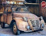 Trabaud Virginie - 2cv - a treasure trove in my garage