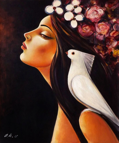 Artwork >> Ognian Kouzmanov >> Peace on My Shoulder