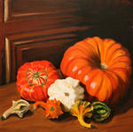 Sylviane Duruel-Boissy Tilly - 2005 016  The  pumpkins