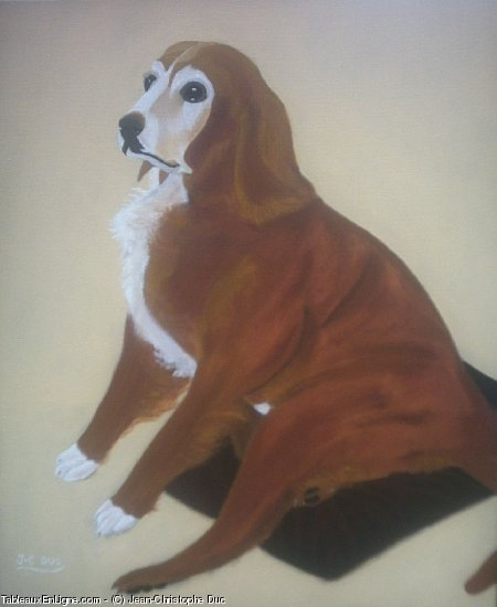 Artwork >> Jean-Christophe Duc >> hound pretty