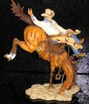 James Stow - Boehm -The Bronco Buster- Limited Edition Statue