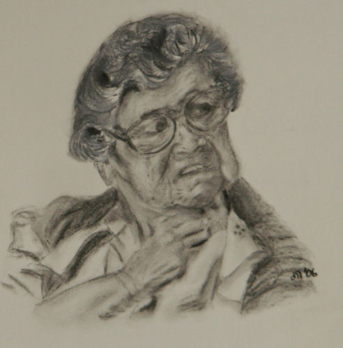 Artwork >> John Rose, Artist >> Grandma