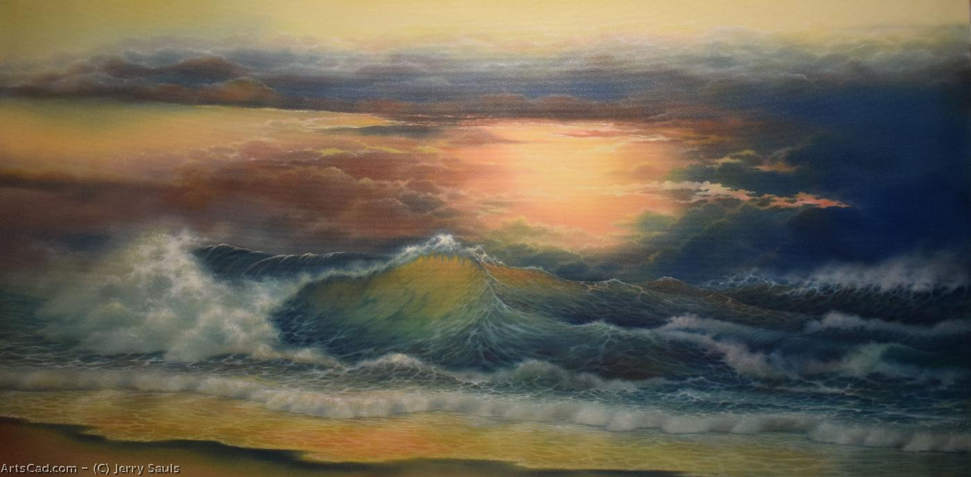Artwork >> Jerry Sauls >> The Ultimate Sunset