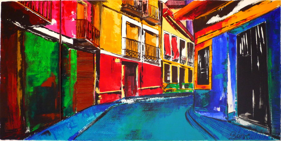 Artwork >> Ombres Et Lumières >> colors of cuba