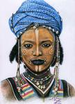 Arts And Dogs - Young Wodaabe Man