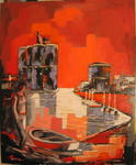 Jacky Dumergue - The towers of La Rochelle
