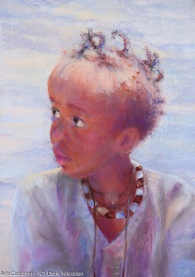 Artwork >> Doris Kricorian >> Little face